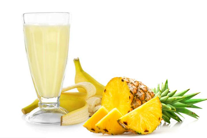 低度甜型菠萝香蕉复合果酒酿造方法