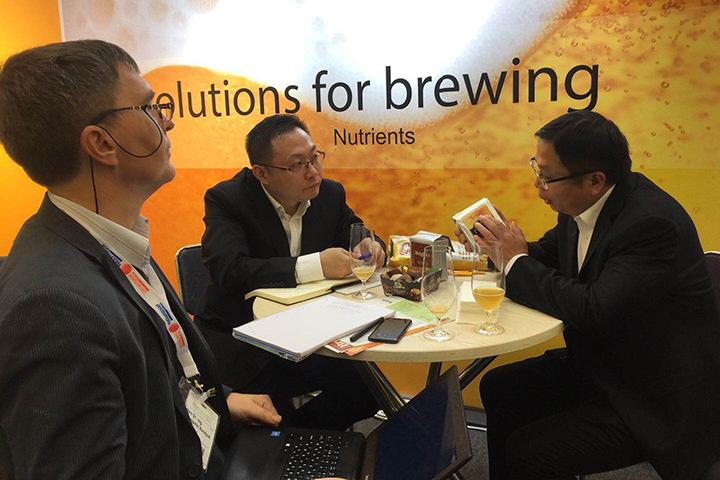 安琪携战略合作伙伴首次亮相德国啤酒展(BrauBeviale 2018)