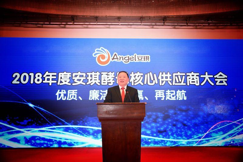 优质、廉洁、共赢、再起航——首届安琪酵母核心供应商大会在宜昌召开